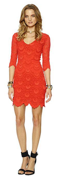 Hot orange Revolve Clothing