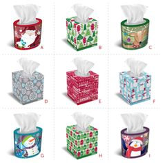 You can't be choosy with the presents you'll get, but you can pick a favorite #holiday design. Which one is yours?