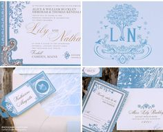 Our Muse - Wedding Invitations - Be inspired by Lily & Nathan's winter wedding at Foxhill, Camden, Maine - digital printing, invitations, offset printing, wedding, winter