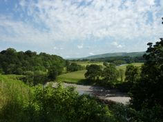 Ruskin's View from St Mary's church Kirkby Lonsdale