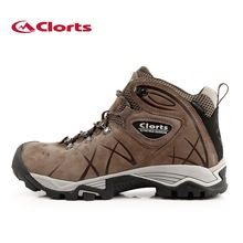 US $52.19 Clorts 2017 Men Outdoor Hiking Boots Waterproof Non-slip Mountaineering Shoes Real Leather Trekking Hiking Shoes HKM-802A. Aliexpress product