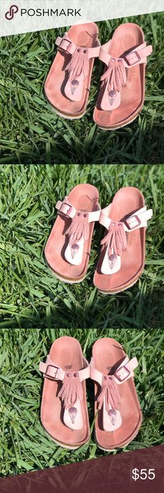 55a574bb7c46 Shop Kids  Birkenstock Pink size Sandals   Flip Flops at a discounted price  at Poshmark.