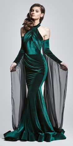 Nora+Gown+With+Detachable+Sleeves, $1,995.00