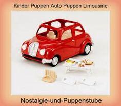 Kinder Puppen Auto Puppen Limousine Auto Spielzeug Fahrzeug Sylvanian Families - Bild vergrößern