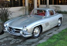 A gem from David Webster's Holiday Gift Guide- 1954 Mercedes-Benz 300SL Gullwing from Hemmings. Perfection. #Christmas #gift #car #gullwing #coupe #Mercedes #present #Holiday #love #mens #list #womens