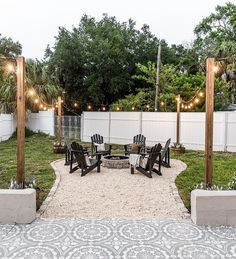 backyard patio fire pit ideas and the best type of pati. - backyard patio fire pit ideas and the best type of patio fire pit Backyard Patio Designs, Backyard Projects, Backyard Landscaping, Backyard Seating, Fire Pit Landscaping Ideas, Budget Landscaping Ideas, My Patio Design, Backyard Landscape Design, Firepit Design