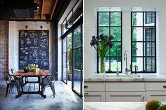 #4 cocina + ventana. Industrial Steel