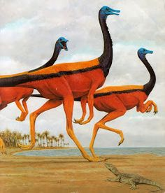 Love in the Time of Chasmosaurs: Vintageish Dinosaur Art: An Alphabet of Dinosaurs - Part 1