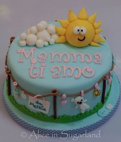 For a mum cake
