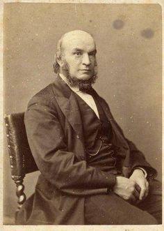 JOHN COUCH ADAMS   Cornwall: Cornish-born mathematician and astronomer b. 5 June 1819     ✫ღ⊰n