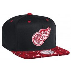 fd5b07e7923 Chicago Blackhawks Snapback Hats NHL Caps Red Black Leather