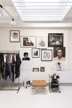 Asymmetric gallery wall idea. Bedroom with an open closet. Are you looking for unique art photo prints to curate your gallery walls? Visit bx3foto.etsy.com and follow us on Instagram @bx3foto