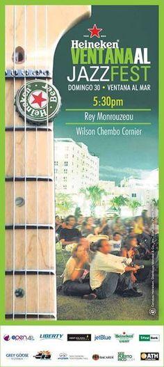 Heineken Ventana al Jazz Fest @ Plaza Ventana al Mar, Condado #sondeaquipr #heineken #ventanaaljazzfest #condado #sanjuan #ventanaalmar