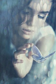 In tranquil whispers one could tell .. She knew the cocoon journeys so well .. Eros Rises ❤