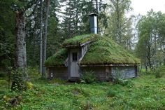 """These are becoming more and more popular in our area """"Earth home"""". Want to make it your next house?"""