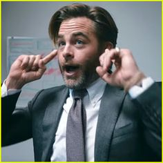 Chris Pine Puts Congress' Bad Behavior Into Work Place Situations for 'Leonard' PSA!