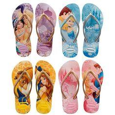 disney princess (havaianas) flip-flops
