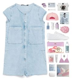 """""""Let us live for the beauty of our own reality."""" by novalikarida ❤ liked on Polyvore featuring Zara, adidas Originals, The Body Shop, Deborah Lippmann, H2O+, Cosabella, Guerlain, adidas, Zara Home and Essie"""
