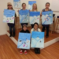 These Girls Discovered Their Inner Artists!