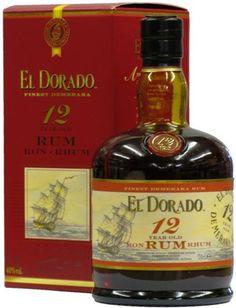 El Dorado Rum 12 Years Old , Guyana  One of my favorite aged rum!!