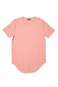 fbe9678e79403 Elwood Clothing Burnt Pink Curved Men Tall Tee Elwood Clothing