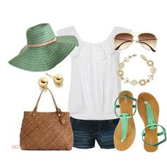 Can't wait for summer (Summer Mint 2, created by coombsie24 on Polyvore)