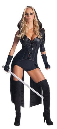 Sucker Punch - Sweet Pea Adult Costume Includes: Jacket, shorts, fingerless gloves, and thigh highs. Does not include shoes. This is an officially licensed Sucker Punch product. Weight (lbs) 1.43 Length (inches) 14.5 Width (inches) 12 Height(inches) 2.5 Adult Costumes Black Large WOMEN Everyday Female Adult