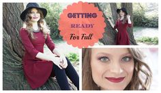 Get ready with me!  FALL IN BURGUNDY | Je suis Katia