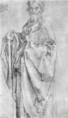Apostle Bartholomew - Albrecht Durer