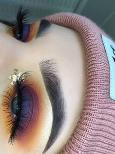 23 Beautiful Eye Makeup Looks That is Perfect for Summer - Inspired Beauty