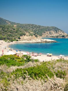Beautiful beach in Sardinia, Italy
