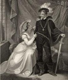 "My Ancestors, Henry ""Hotspur"" Percy and Lady Elizabeth Mortimer"