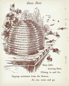 Busy little buzzing bees... 1900