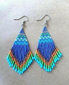 Pin On Beaded Earrings And Jewelry