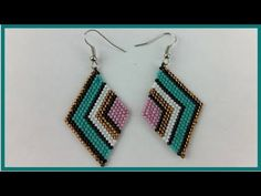 Webpage not available Beaded Jewelry Designs, Seed Bead Jewelry, Bead Jewellery, Seed Bead Earrings, Beaded Earrings, Crochet Earrings, Bead Embroidery Jewelry, Beaded Embroidery, Beading Tutorials