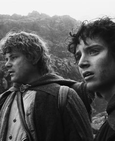 Frodo and Sam in LOTR