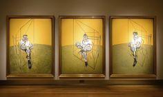 """La tercer pintura más costosa de la historia es la realizada por FRANCIS BACON """"Three Studies of Lucian Freud"""", en 1969. Vendida en la gloriosa cantidad de 142.4 millones de dólares en Christie's Nueva York, una de las más famosas casas de subasta del mundo en el 2013.  No solo se trata de una de las pinturas más caras, sino que supone un récord de cotización para una obra de arte contemporáneo."""