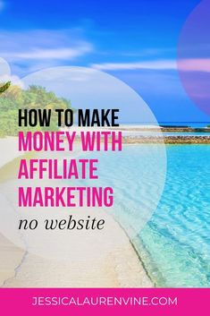 Wondering how to make money with affiliate marketing with no website? This is a really great site that shows you how to do it. I'm sharing it with everyone that doesn't want to make a website. #blogging #howtomakemoney