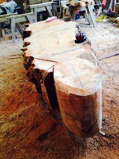 Burr Oak Out Door Giant Pebbles Table U0026 Seating