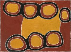 PADDY NYUNKUNY BEDFORD (c1922 – 2007) FIG TREE, 1998   natural earth pigment and synthetic binder on linen  120.0 x 160.0 cm  initialled verso: PB  inscribed verso: title and Jirrawun Aboriginal Arts cat. 98.27  $50,000 – 70,000    Deutscher and Hackett