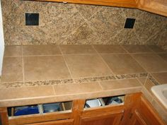 Ceramic Tile Countertops Tile Countertopskitchen Ideas