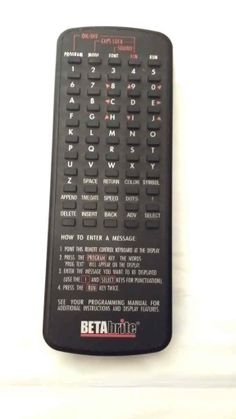 BETAbrite Remote Control for BETAbrite LED sign Led Signs, Control System, Runes, Remote, Shopping, Pilot