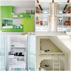 Bunk beds have gone modern. Whether you live in a small space or a big home, you will be inspired by these 30 amazing bunk beds for kids. While having your broo