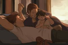 Han and Leia and Ben art Reylo, Ghibli, Saga, Character Art, Character Design, Familia Anime, Han And Leia, Anime Family, Star Wars Fan Art