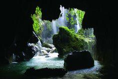 Cenote Puente de Dios, Querétaro, México. Travel, hidden swimming holes
