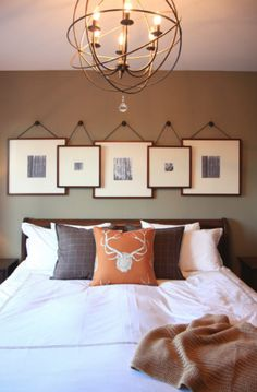 Headboard Picture Frames From Our Interior Design Blog at Design Connection Inc Kansas City