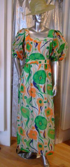 Tori richards maxi dress