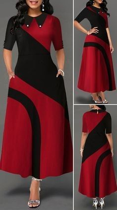 Frock Fashion, Women's Fashion Dresses, Outfits Dress, Fashion Fashion, Indian Fashion, Fashion Women, Cute Outfits, Long African Dresses, Latest African Fashion Dresses