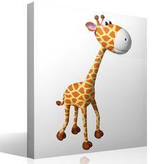 Kinderzimmer Wandtattoo Giraffe