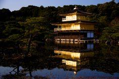 Kyoto Kinkaku-ji (a world heritage)